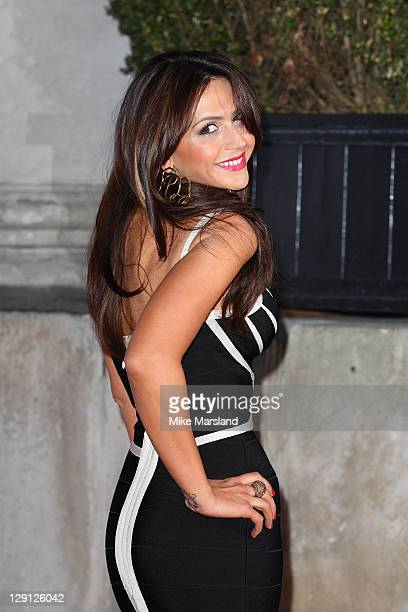 Vanessa Perroncel attends party celebrating FHM Magazine's 100 Sexiest Women in the World 2011 at One Marylebone on May 4 2011 in London England
