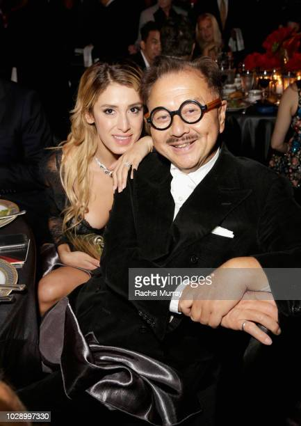 Vanessa Rano and Michael Chow attend The Brent Shapiro Foundation Summer Spectacular at The Beverly Hilton Hotel on September 7 2018 in Beverly Hills...