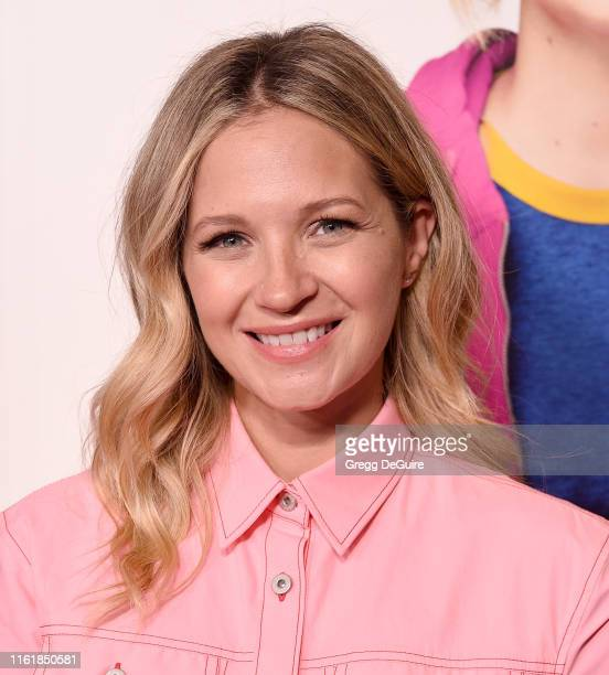 Vanessa Ray arrives at the premiere of Amazon Studios' Brittany Runs A Marathon at Regal LA Live on August 15 2019 in Los Angeles California