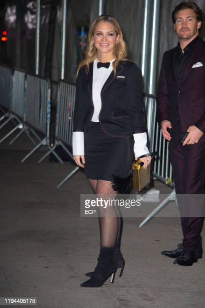 Vanessa Ray at the CATS premiere on December 16 2019 in New York City
