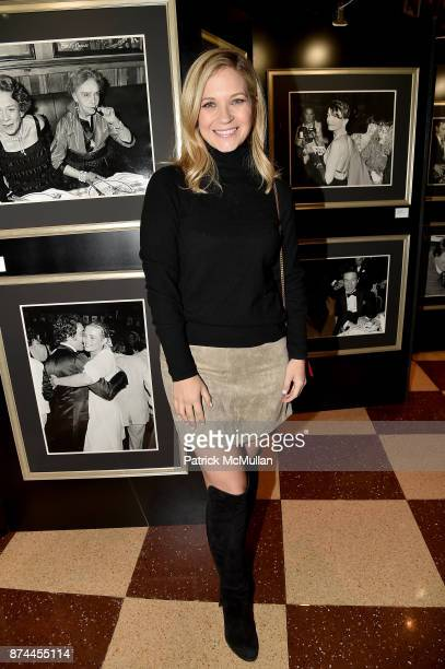 Vanessa Ray attends NINETY YEARS OF GALLAGHERS New York's iconic steakhouse at Gallaghers Steakhouse on November 14 2017 in New York City