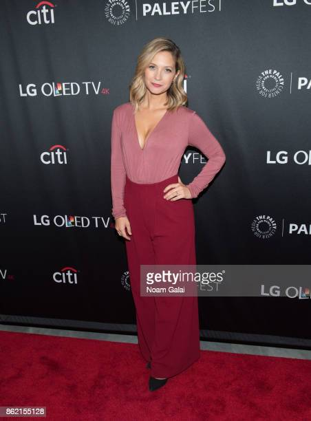 Vanessa Ray attends the Blue Bloods screening during PaleyFest NY 2017 at The Paley Center for Media on October 16 2017 in New York City