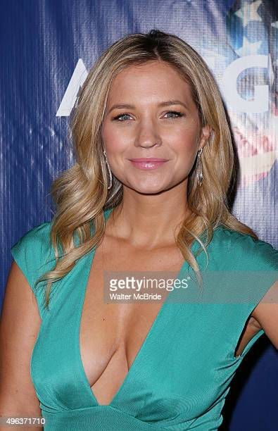 Vanessa Ray attends the Broadway Opening Night Performance of 'Allegiance' at the Longacre Theatre on November 8 2015 in New York City