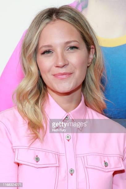 Vanessa Ray attends the premiere of Amazon Studios' Brittany Runs A Marathon at Regal LA Live on August 15 2019 in Los Angeles California