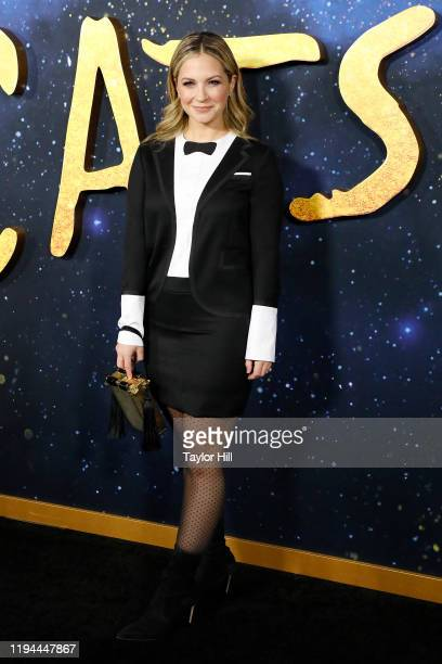 Vanessa Ray attends the world premiere of Cats at Alice Tully Hall Lincoln Center on December 16 2019 in New York City