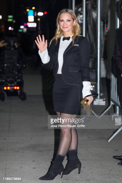 Vanessa Ray is seen on December 16 2019 in New York City