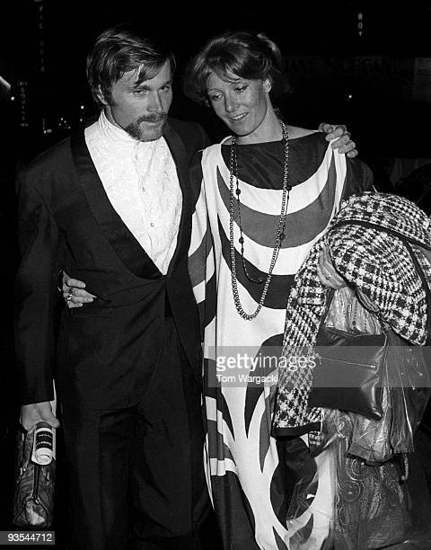Vanessa Redgrave and Franco Nero at The Plaza Hotel on circa 1969 in New York United States