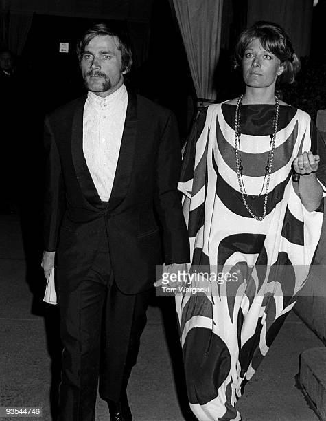 Vanessa Redgrave and Franco Nero at The Plaza Hotel on circa 1969 in New York United States