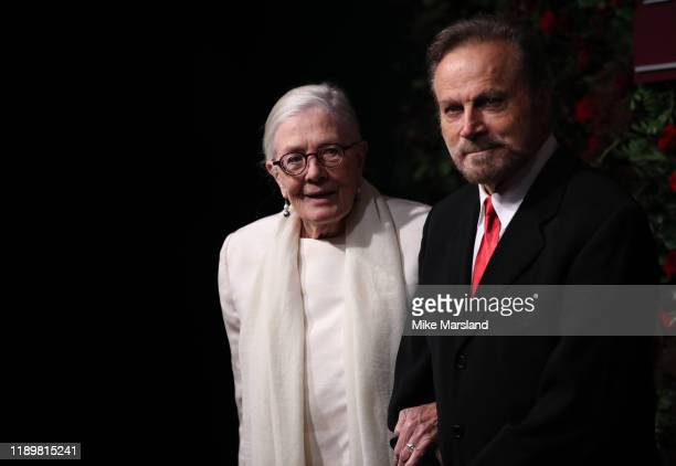 Vanessa Redgrave and Franco Nero attend the 65th Evening Standard Theatre Awards at the London Coliseum on November 24 2019 in London England