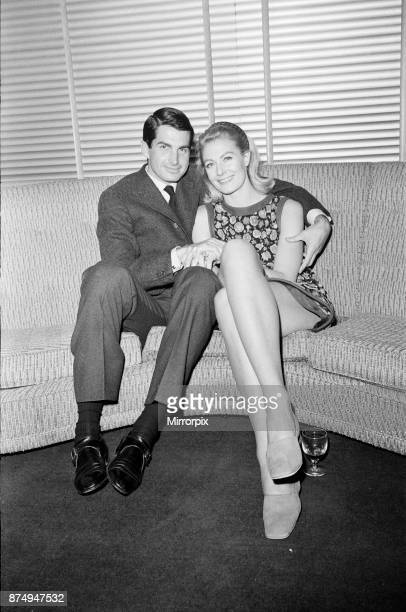 Vanessa Redgrave and George Hamilton at a press conference at the BBC Wood Lane studios: they are set to star in an anti-war drama for BBC TV, 10th...