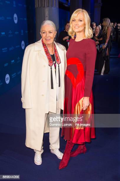 Vanessa Redgrave and Joely Richardson arrive for The British Independent Film Awards at Old Billingsgate in London