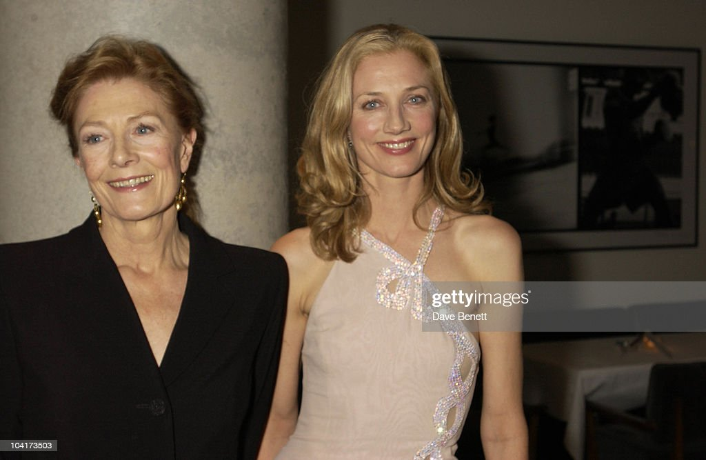 Vanessa Redgrave And Joely Richardson, At The Theatre Royal Haymarket,and The Party At The Trafalgar Hotel, London.