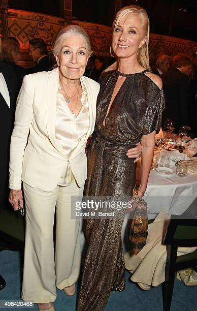 Vanessa Redgrave and Joely Richardson attend The London Evening Standard Theatre Awards after party in partnership with The Ivy at The Old Vic...