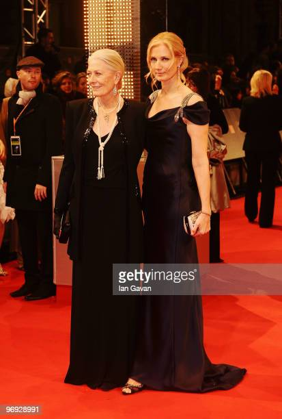 Vanessa Redgrave and Joely Richardson attend the Orange British Academy Film Awards 2010 at the Royal Opera House on February 21 2010 in London...