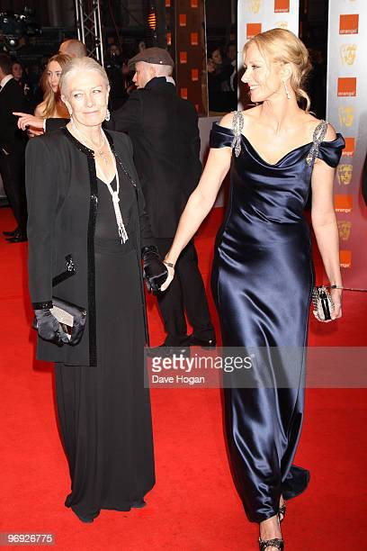 Vanessa Redgrave and Joley Richardson arrives at the Orange British Academy Film Awards held at The Royal Opera House on February 21 2010 in London...
