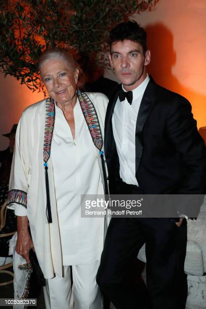 Vanessa Redgrave and Jonathan RhysMeyers attend the Celebrazione Party By Chopard and Generali To Honor The 75th Venice Film Festival at Palazzo...