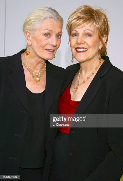 Vanessa Redgrave and Lynn Redgrave during Theatre for a New Audience Celebrates Shakesphere's 439th Birthday at Powerhouse at The American Museum of...