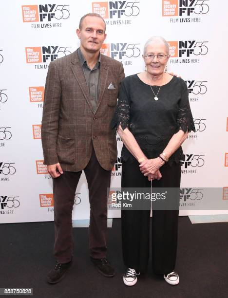 """Vanessa Redgrave and producer Carlo Gabriel Nero attend the screening of """"Sea Sorrow"""" during the 55th New York Film Festival at The Film Society of..."""