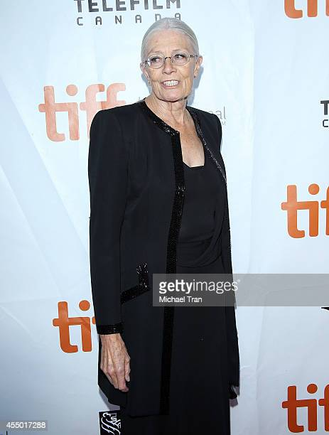 Vanessa Redgrave arrives at the premiere of Foxcatcher held during the 2014 Toronto International Film Festival Day 5 on September 8 2014 in Toronto...