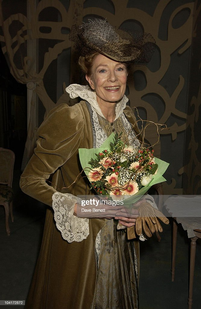 Vanessa Redgrave, At The Theatre Royal Haymarket,and The Party At The Trafalgar Hotel, London.