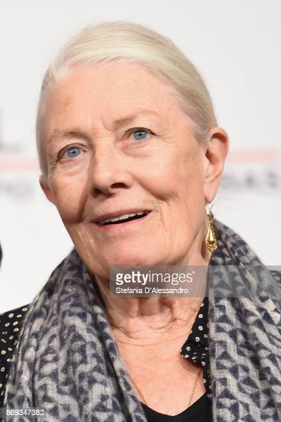 Vanessa Redgrave attends a photocall during the 12th Rome Film Fest at Auditorium Parco Della Musica on November 2 2017 in Rome Italy