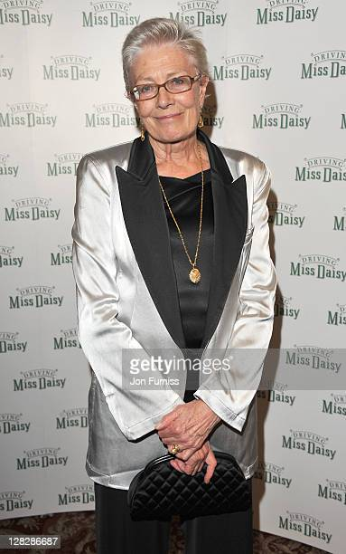 Vanessa Redgrave attends the after party for the opening of Driving Miss Daisy at RAC Club on October 5, 2011 in London, England.
