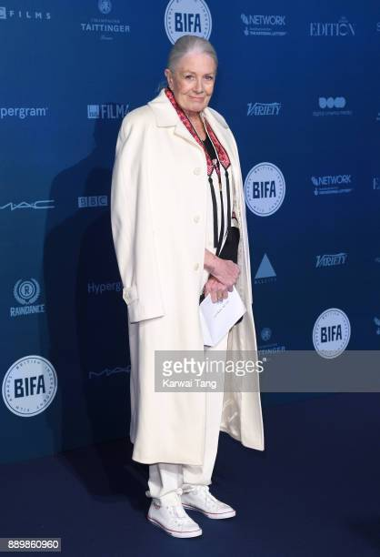 Vanessa Redgrave attends the British Independent Film Awards held at Old Billingsgate on December 10 2017 in London England