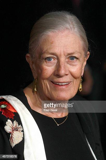Vanessa Redgrave attends the 'Foxcatcher' UK premiere at Odeon Leicester Square on October 16 2014 in London England