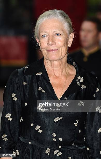 Vanessa Redgrave attends the Harper's Bazaar Women Of The Year Awards at The Dorchester on September 7 2009 in London England