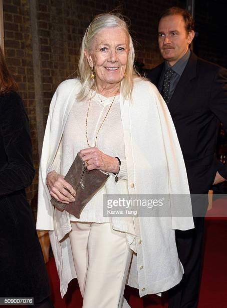 Vanessa Redgrave attends the London Evening Standard British Film Awards at Television Centre on February 7 2016 in London England