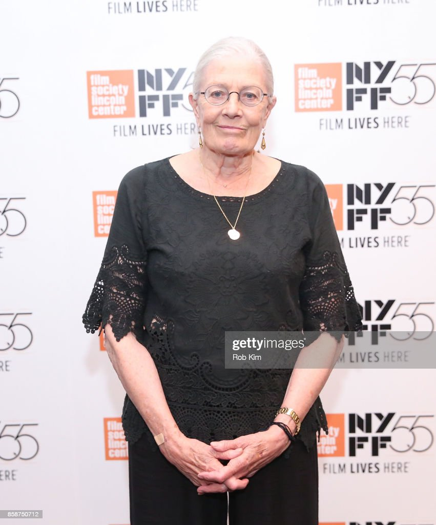 Vanessa Redgrave attends the screening of 'Sea Sorrow' during the 55th New York Film Festival at The Film Society of Lincoln Center, Walter Reade Theatre on October 7, 2017 in New York City.