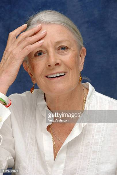 Vanessa Redgrave during Evening Press Conference with Michael Cunningham Natasha Richardson Mamie Gummer Claire Danes and Vanessa Redgrave at Regency...
