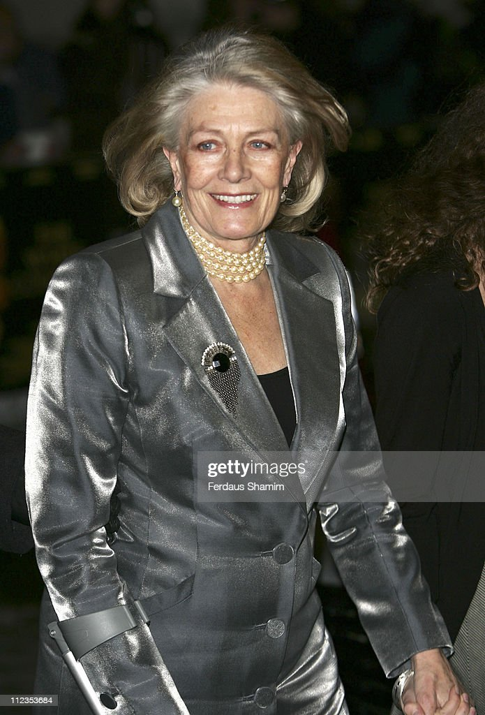 Vanessa Redgrave during 'The White Countess' London Premiere - Arrivals at Curzon Mayfair in London, Great Britain.