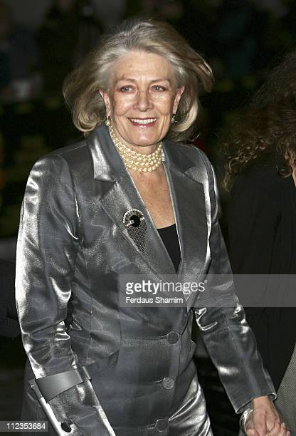 Vanessa Redgrave during 'The White Countess' London Premiere Arrivals at Curzon Mayfair in London Great Britain