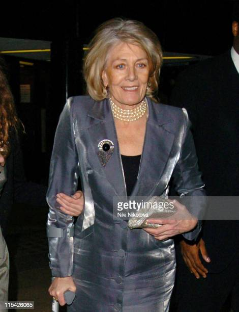 Vanessa Redgrave during 'The White Countess' London Premiere Departures at Curzon Mayfair in London Great Britain