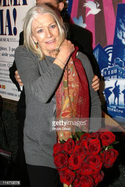 Vanessa Redgrave during 'The Year of Magical Thinking' Broadway Opening Night at The Booth Theatre in New York City New York United States