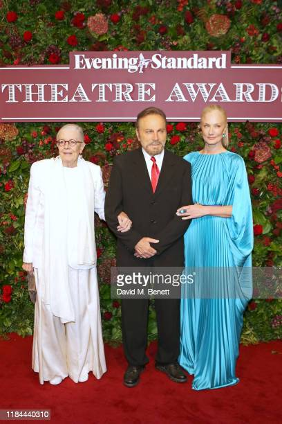 Vanessa Redgrave Franco Nero and Joely Richardson attend 65th Evening Standard theatre Awards in association with Michael Kors at the London Coliseum...