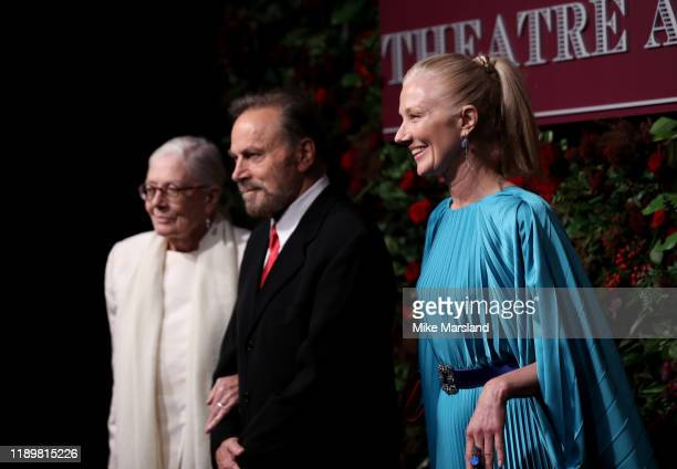 Vanessa Redgrave Franco Nero and Joely Richardson attends the 65th Evening Standard Theatre Awards at the London Coliseum on November 24 2019 in...