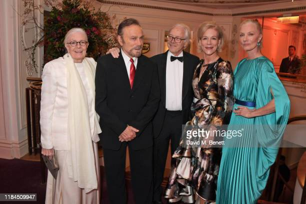 Vanessa Redgrave Franco Nero Hugh Brody Juliet Stevenson and Joely Richardson attend the 65th Evening Standard Theatre Awards in association with...