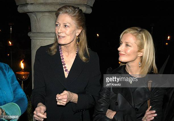 Vanessa Redgrave Joely Redgrave during HBO Films Pre Golden Globes Party at Chateau Marmont in Los Angeles CA United States