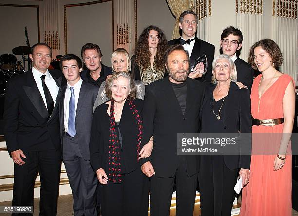 Vanessa Redgrave, Liam Neeson, Joely Richardson, Carlo Gabriel Nero,Daisy Bevan, Franco Nero, Kika Markham, Annabel Clark & Family attending the...