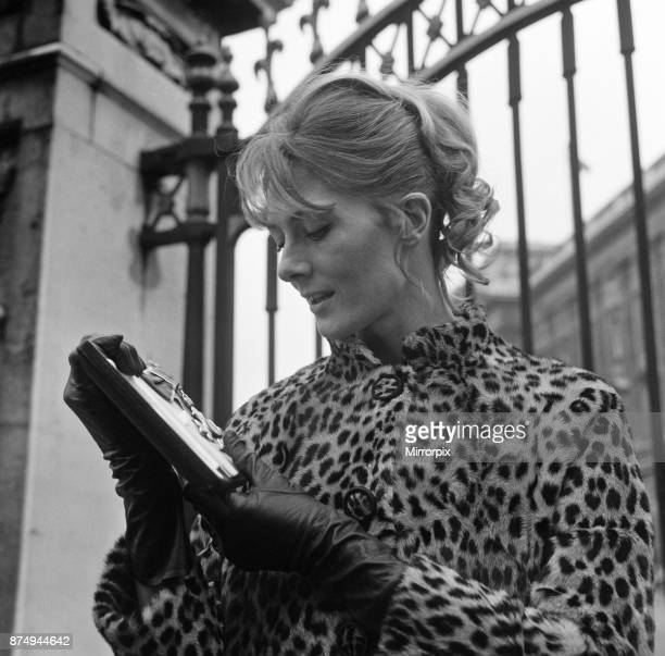 Vanessa Redgrave receives her CBE at Buckingham Palace 13th February 1968