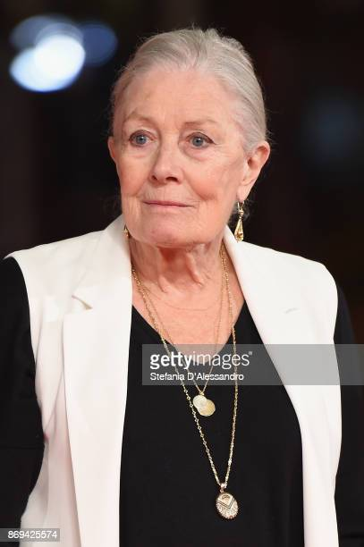 Vanessa Redgrave walks the red carpet during the 12th Rome Film Fest at Auditorium Parco Della Musica on November 2 2017 in Rome Italy
