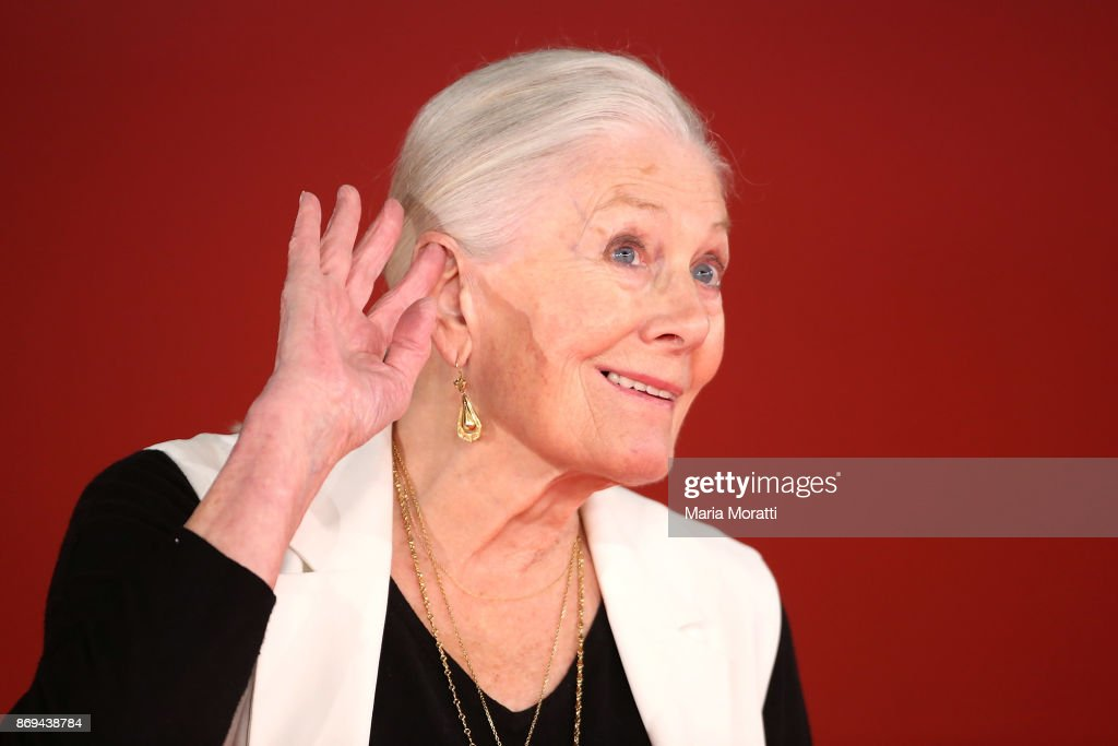 Vanessa Redgrave walks the red carpet during the 12th Rome Film Fest at Auditorium Parco Della Musica on November 2, 2017 in Rome, Italy.