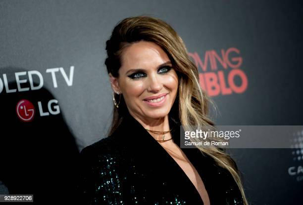 Vanessa Romero attends 'Loving Pablo' Madrid Premiere on March 7 2018 in Madrid Spain