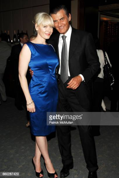 Vanessa Shanks and Alfredo Pecora attend THE FOUR SEASONS RESTAURANT 50th Anniversary INSIDE at The Four Seasons Restaurant on June 11 2009 in New...
