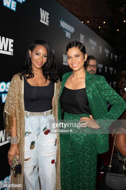 Vanessa Simmons and Michele Weaver attend Bossip Best Dressed List Event on July 31 2018 in Los Angeles California