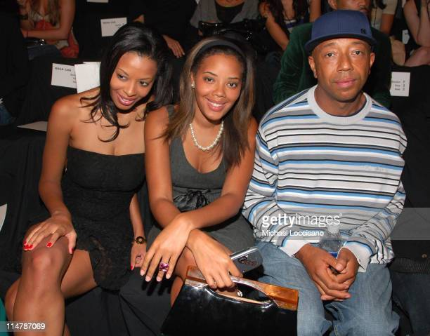 Vanessa Simmons Angela Simmons and Russell Simmons