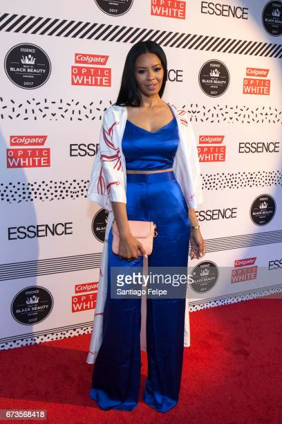 Vanessa Simmons attends The 2017 ESSENCE Best in Black Beauty Awards at Sugar Factory NYC on April 26, 2017 in New York City.