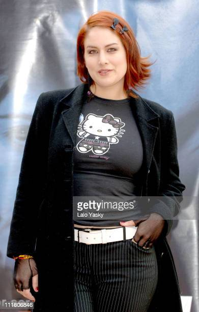 Vanessa Simon attends a Promotional Photocall for Colombian Film El Rey